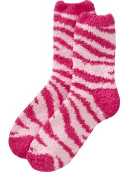 I love fuzzy socks! I wear them all of time in the winter!!!!!!!!!!:)