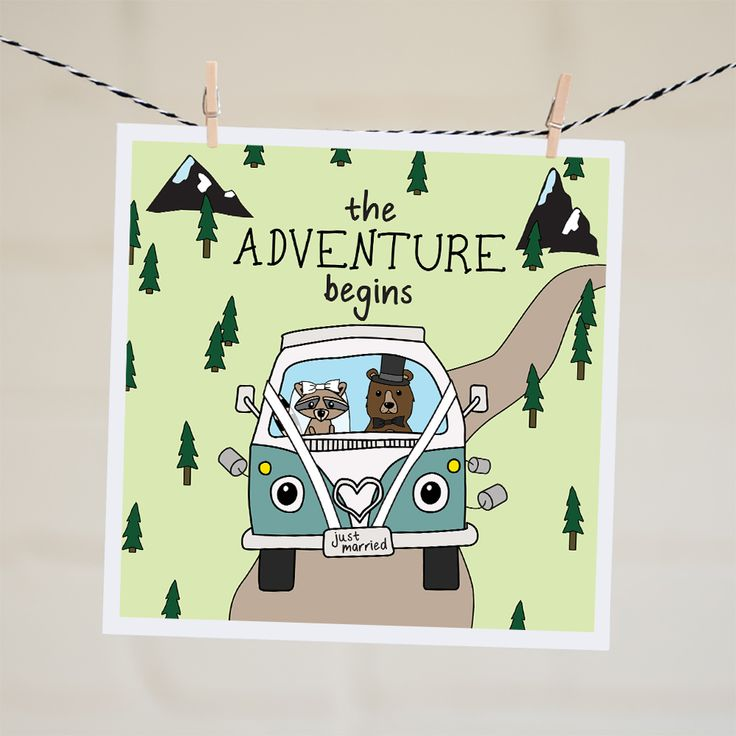 The Adventure Begins Card | Relove SA