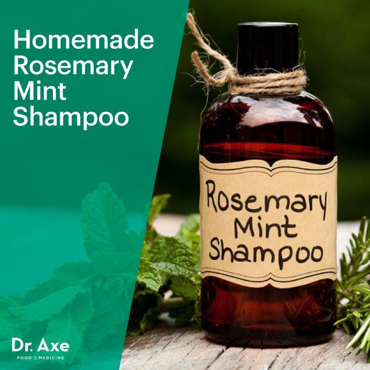 Soap Free Homemade Rosemary Mint Shampoo Recipe