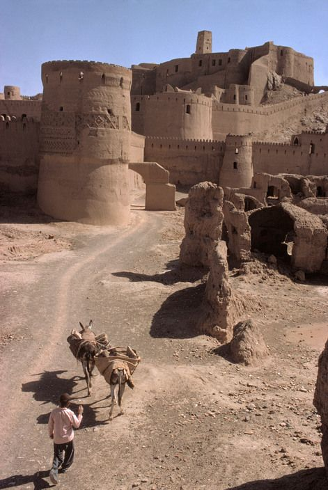 Bam, Province of Kerman, Iran, Bruno Barbey.
