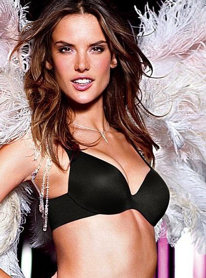 Victoria's Secret Incredible Demi Bra in Black