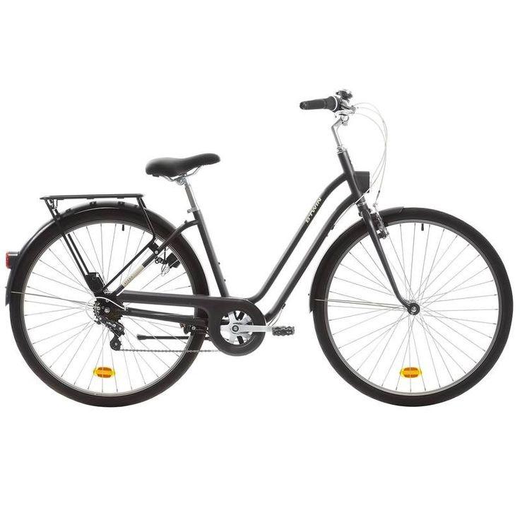 GROUPE 6 Vélos, cyclisme - VELO VILLE ELOPS 500 CADRE BAS B'TWIN - Vélos Ville