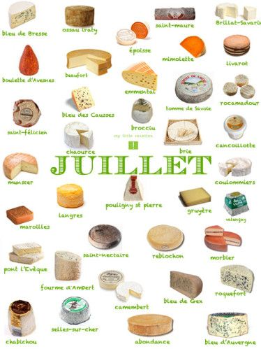 Fromages Juillet