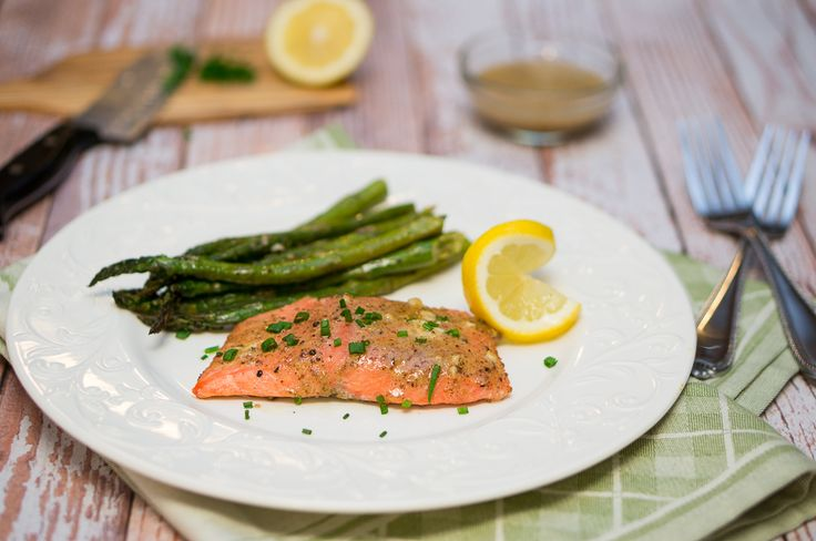 This appetizing and highly nutritious maple mustard glazed salmon is so easy and delicious. Great dinner or lunch for busy families.