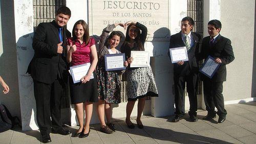 Graduación de Seminario 2011 - Barrio Cruz del Sur / Tomada en la Estaca Talcahuano