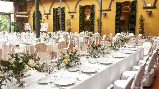 "Flower arrangement "" winter garden""table"
