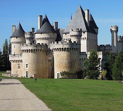 Château de Chabenet~ Le Pont-Chrétien-Chabenet ~ Indre ~ Centre-Val de Loire ~ France ~ It is a moated castle completed in 1471.
