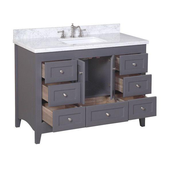 Abbey 48 Single Bathroom Vanity Set Wayfair Bathroom