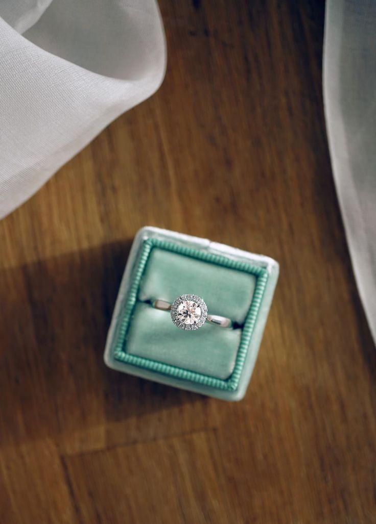 Today's ring of the day is this beautiful Canadian diamond halo engagement ring, available across all of our locations.