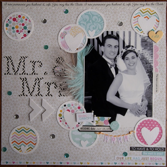 227 best Wedding Scrapbooking images on Pinterest | Babe, Handmade ...