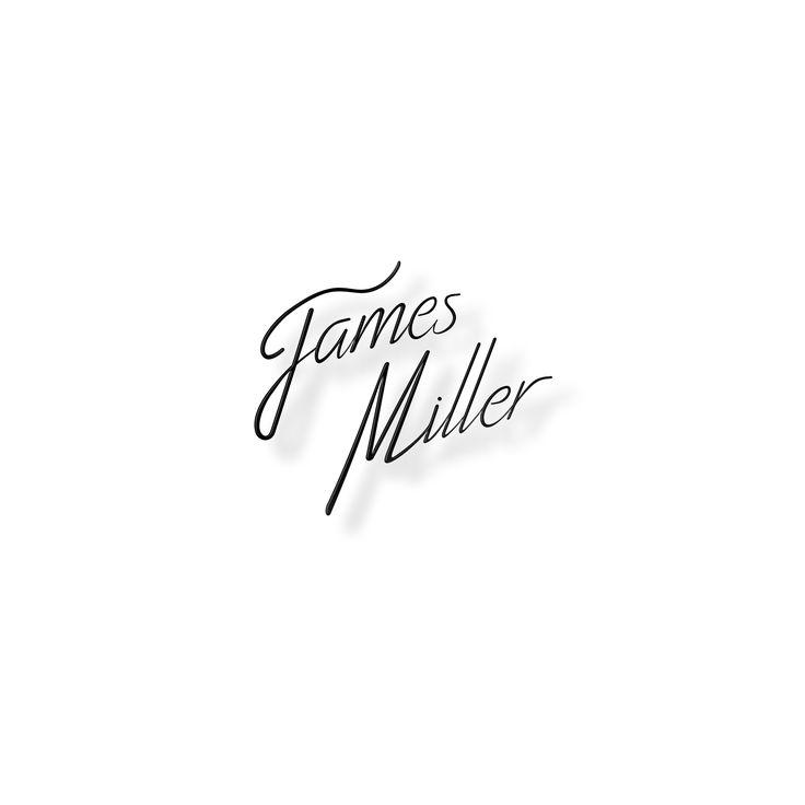 Logo pour James Miller [DJ] Noir sur Blanc