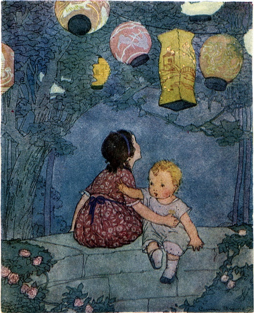 11 november, Sint Maarten Carmen L. Browne from  'Come Play with Me', 1918