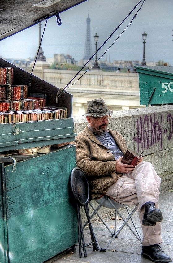 A Bookseller in Paris