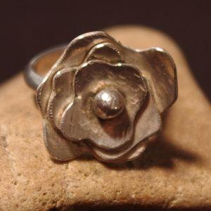 Metal Petals Ring