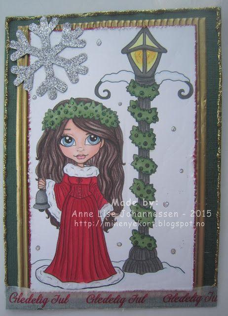 Mine Prosjekter: Julekort fra Faery Ink