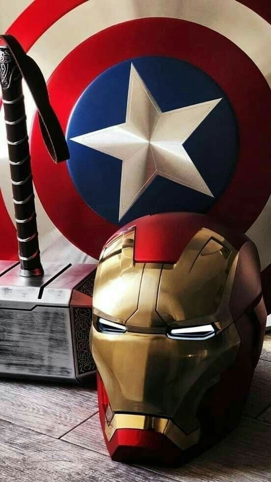 The Big 3   Marvel   Marvel, Marvel wallpaper, Avengers