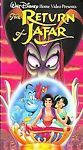 THE RETURN OF JAFAR VHS WALT DISNEY VIDEO TAPE MOVIE COLLECTIBLE VINTAGE RARE