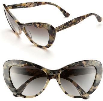 #Miu Miu                  #Eyewear                  #57mm #Sunglasses #Gray #Size                       Miu Miu 57mm Cat Eye Sunglasses Gray One Size                                 http://www.snaproduct.com/product.aspx?PID=5421400