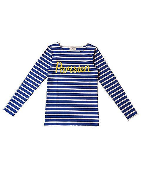 <メゾン キツネ>マリン長袖Tシャツ(SPISW702):三越・伊勢丹オンラインストア