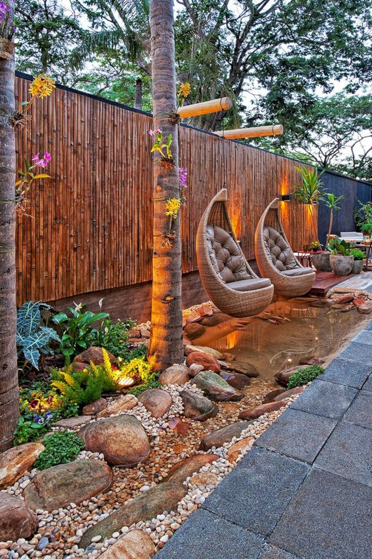 Awesome 38 Inspiring Swing Chairs Ideas for Garden. More at http://trendecor.co/2017/11/13/38-inspiring-swing-chairs-ideas-garden/ #SwingChair