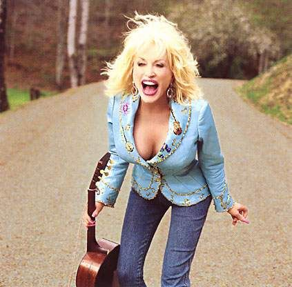 Dolly Parton photographed by Annie Leibovitz... You just have to love dolly