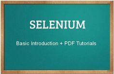 Selenium Testing #selenium #software #testing #tutorial http://www.testingbrain.com/tutorials/selenium.html