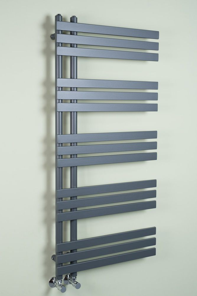 Designer Handtuchheizkorper Badheizkorper 1272x600mm Grau Heimwerker Installation Heizung Ebay Designer Tuch Bad