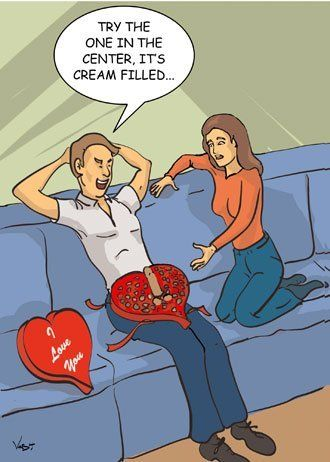 valentine day adult humor