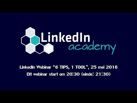 "LinkedIn Academy webinar ""6 TIPS, 1 TOOL"" -   Social marketing packages at a fraction of the cost! Outsource now! Check our PRICING! #socialmarketing #socialmedia #socialmediamanager #socialmanager #SOCIAL Nieuwsgierig of jij alle geheimen van LinkedIn al hebt ontdekt en hoe je deze optimaal kan gebruiken? Wij dagen je uit met onze gratis... - #LinkedinTips"