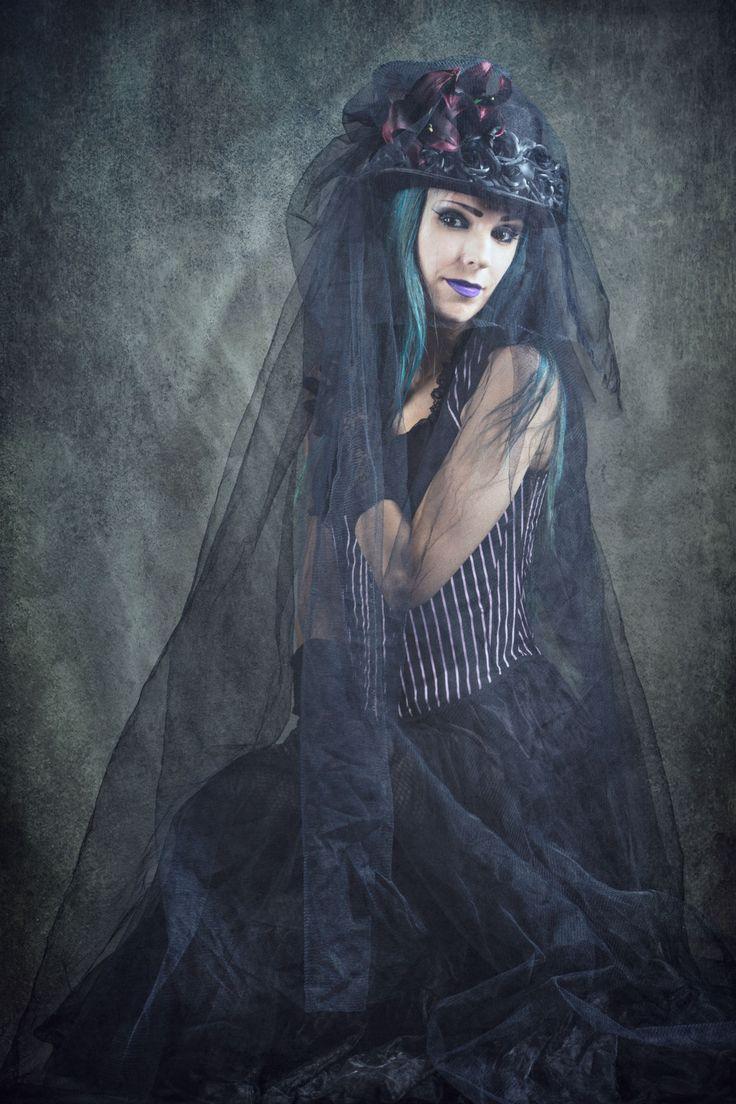 #corpsebride, #persephonemodel, #gothicandamazing, #blackveil, #blackwidow #gothic #gothicjewelry #gothicjewellery #gothicstyle #gothfashion #gothicfashion #gothgoth #altfashion #altgirl #altmodel #gothgirl #gothmodel #gothicmakeup #wiccan Corpse Bride Model: Persephone - Model, Photography: Eddie Kavanagh