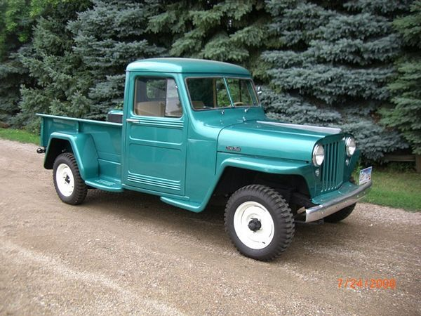 1949 Willys Jeep Pickup