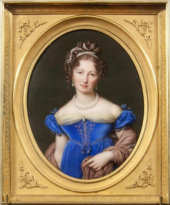 Marie Victorie Jaquotot,( born 1772, dead 1855) Portrait of Comtesse Woronzow, nee Branicka, Nationalmuseum, Stockholm