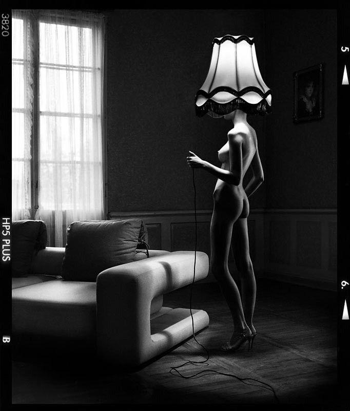 Szymon Brodziak, Lampa  #photoinspirations #artisticphotography #artmarket #limitededition #artistoftheday #photography #fineart #collectorsphotography #buyart  #black&white #woman #nude #lamp