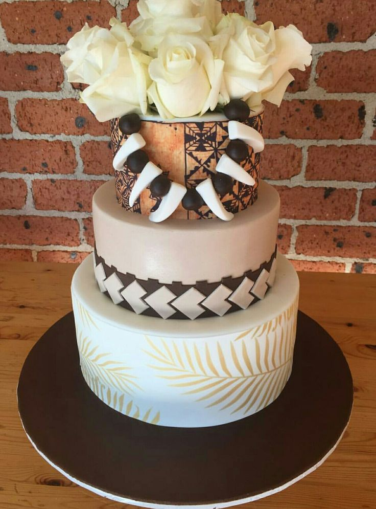 samoan wedding cake designs 227 best islander cakes images on anniversary 19638