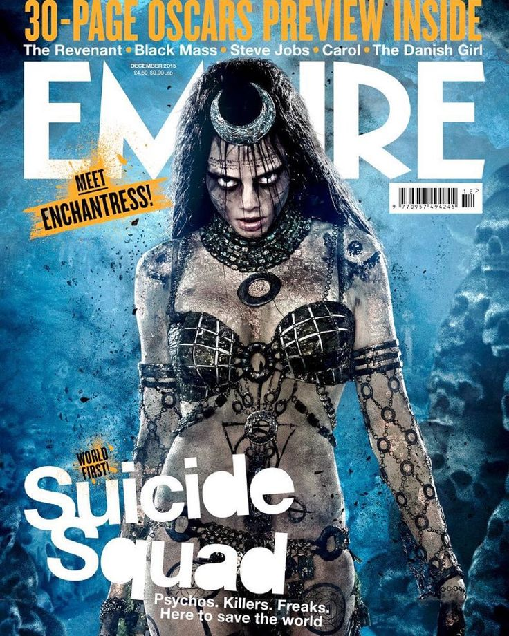 """1,450 Likes, 40 Comments - Clay Enos (@clayenos) on Instagram: """"Cara as #Enchantress @suicidesquadmovie"""""""
