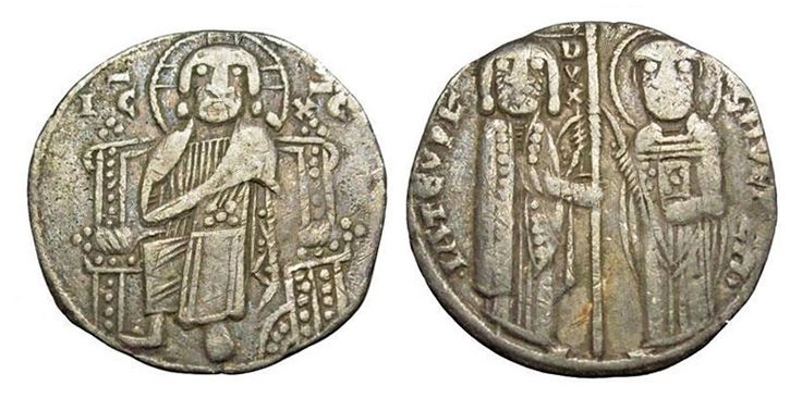 Ancient Resource: Medieval Venetian Coins For Sale. Doges of Venice, Italy.