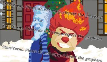 Miser Brothers Christmas Crochet Graph