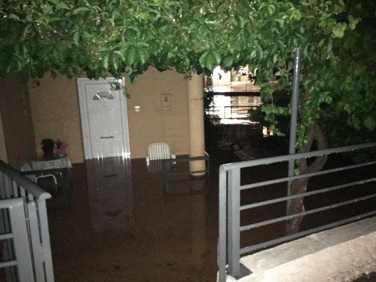 Βιβλική καταστροφή στα Φάρσαλα: Καταστράφηκαν καλλιέργειες, πλημμύρισαν σπίτια στην πόλη (φωτό – video)