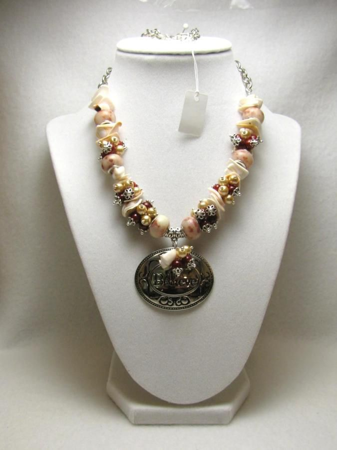 Believe - Jewelry creation by Linda Foust