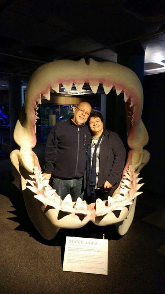 Jaws....en Christene en Riaan Mocke