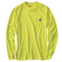 Carhartt Hi Visibility Color Enhanced LS Tee | Hi Vis Safety Clothing at the lowest Price , Call Us for B2B Pricing almost at wholesale