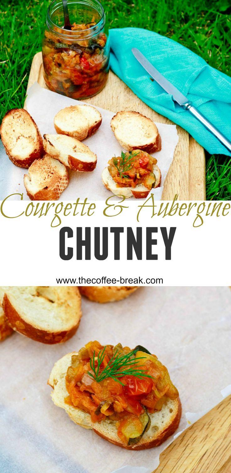 Courgette & Aubergine Chutney    www.thecoffee-break.com