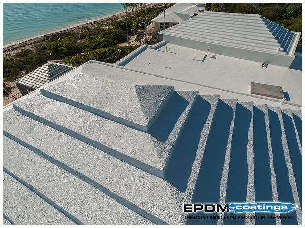 Is There Any Cost Benefit Of Using Liquid Epdm Rubber On Flat Or Low Slope Roof In 2020 Roof Repair Roof Coating Roof Coatings