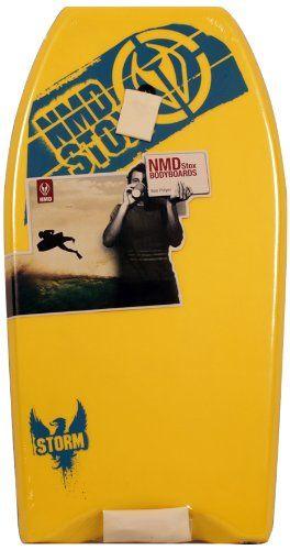 NMD Storm Bodyboard, Yellow, 36-Inch NMD http://www.amazon.com/dp/B00D8VKQSO/ref=cm_sw_r_pi_dp_tnlnxb0XYEHVZ