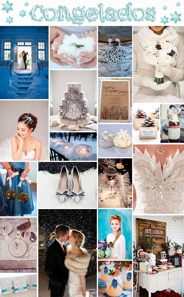 ¿Te imaginas una boda muy al estilo de la película Frozen? ¡Tu boda estilo invierno!: