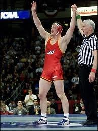 Olympic gold medalist cael sanderson