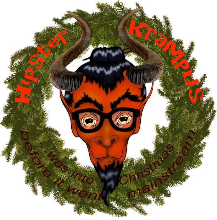 Well, Christmas is looming like a great big … loomy … thing. Why not celebrate in style? We've got a new campaign about to launch with our hipster Krampus, so keep your eyes peeled for more details!
