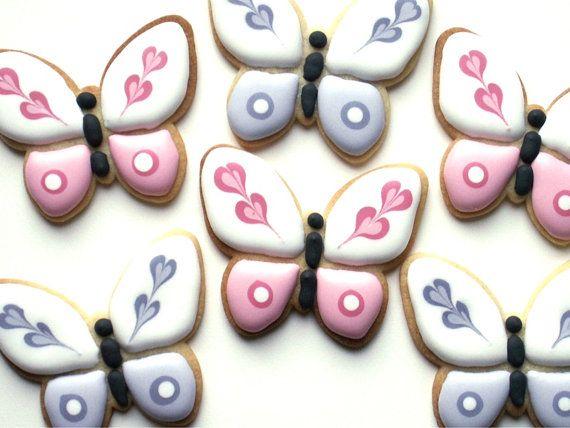 Pretty Butterflies cookies