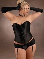 plus size lingerie: De Lingerie, Beautiful Woman, Black Sexy, Black Corsets, Satin Corsets, Black Satin, Beautiful Size, Plus Size Lingerie, Big Beautiful