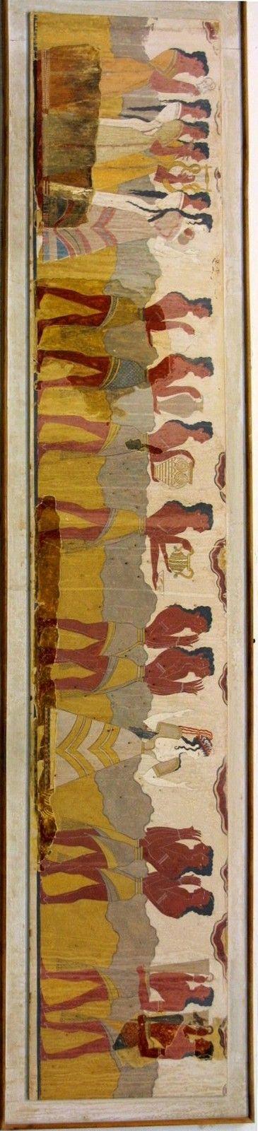Bronze age Etruscan fresco Crete